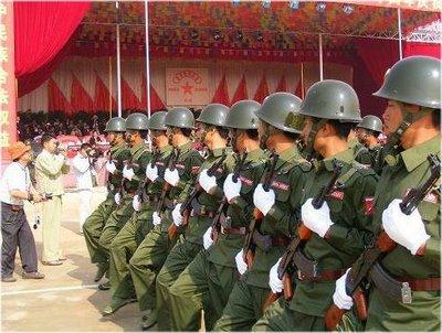 Militaren styr burma ett ar efter upproret